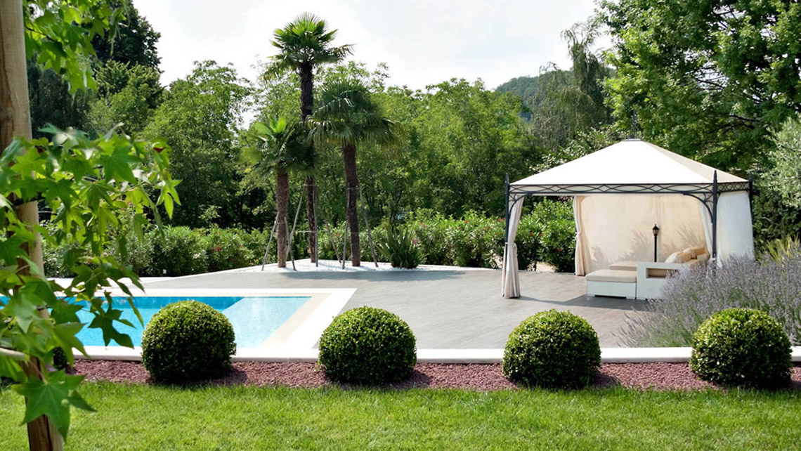 gazebo alluminio proverbio design outdoor